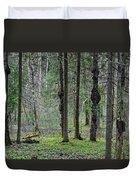 Wild Spring Forest Duvet Cover