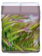 Wild Summer Grass Duvet Cover