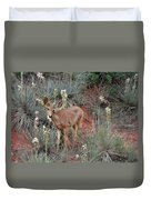 'wild' Times At Garden Of The Gods Colorado Duvet Cover by Christine Till