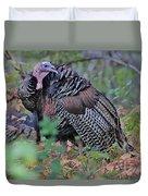 Wild Turkey Duvet Cover