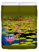 Wild Water Lilies 3 Duvet Cover