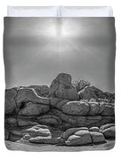 Wild West Rocks Duvet Cover