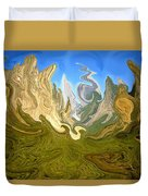 Wild Yosemite - Abstract Modern Art Duvet Cover