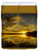 Wildcat Sunset Duvet Cover
