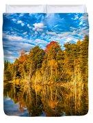 Wilderness Pond - Paint Duvet Cover