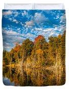 Wilderness Pond  Duvet Cover