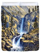 Wilderness Waterfall Duvet Cover
