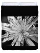 Wildflower 5 Black N White Duvet Cover