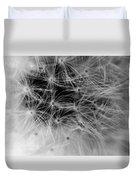 Wildflower 6 Black N White Duvet Cover