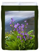 Wildflower Cascade Duvet Cover by Mike  Dawson