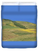 Wildflower Display - Salisbury Potrero Duvet Cover