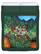 Wildflower Garden 1 Duvet Cover