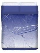 Wildflower In Blue Duvet Cover