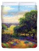 Wildflower Meadows Of Color And Joy Duvet Cover