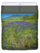 Wildflower Mix At Tejon Ranch Duvet Cover