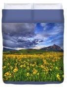 Wildflower Storm Duvet Cover