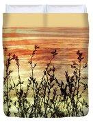 Wildflower Sunrise Duvet Cover