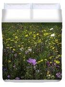 Wildflower Surprise Duvet Cover