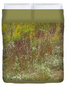Wildflower Tapestry In Jefferson County Duvet Cover