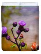 Wildflower Watercolour Duvet Cover