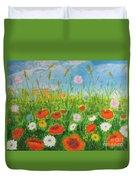 Wildflowers Field Duvet Cover