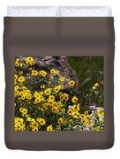 Wildflowers Honoring Mary Jabens Duvet Cover