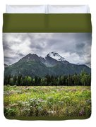 Wildflowers In Palmer Duvet Cover