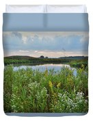 Wildflowers Of Hackmatack National Wildlife Refuge Duvet Cover