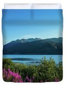 Wildflowers On The Edge Duvet Cover