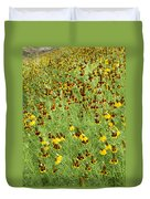 Wildflowers One Duvet Cover