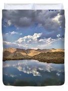 Wildhorse Lake Reflections Duvet Cover