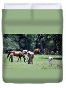 Wildhorses Of Cumberland Duvet Cover