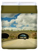 Wildlife Crossing Duvet Cover
