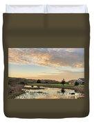 Wildlife Refuge Dusk Duvet Cover