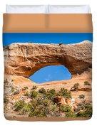 Wildon Arch In Utah Duvet Cover