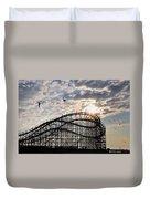 Wildwood Roller Coaster Duvet Cover