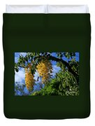 Wilhelmina Tenney Rainbow Shower Tree Makawao Maui Flowering Trees Of Hawaii Duvet Cover