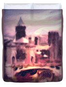 Wilkes Barre Pennsylvania Duvet Cover