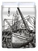 Will Fish Again Another Day Duvet Cover