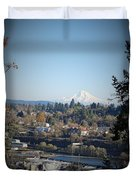 Willamette Falls 2 Duvet Cover