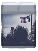 Willamette National Cemetery Duvet Cover