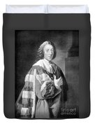 William Pitt, Prime Minister Of Britain Duvet Cover
