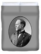 William Tecumseh Sherman Duvet Cover