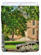 Williamsburg Cannon Duvet Cover