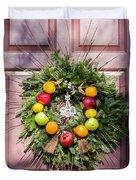 Williamsburg Wreath 53 Duvet Cover