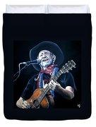 Willie Nelson 2 Duvet Cover