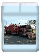 Willig Collection 6 Fire Truck Duvet Cover