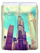 Willis Tower - Chicago Duvet Cover