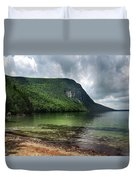 Willoughby Lake In Westmore Vermont Duvet Cover