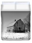 Willow Barn Bw Duvet Cover
